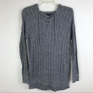 AEO cable knit pull over sweater